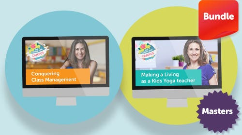 Masters Program (further learning for certified kids yoga teachers)
