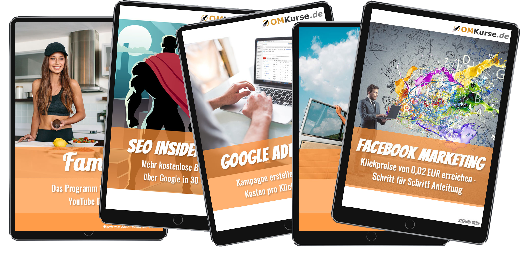 Zugang zu allen Online Marketing Kursen freischalten (einmalig 99,- €)