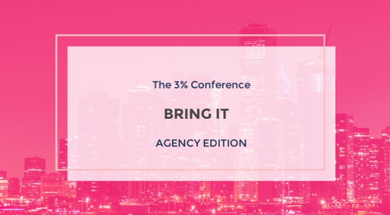 3% Academy - Bring It  - Agency Edition
