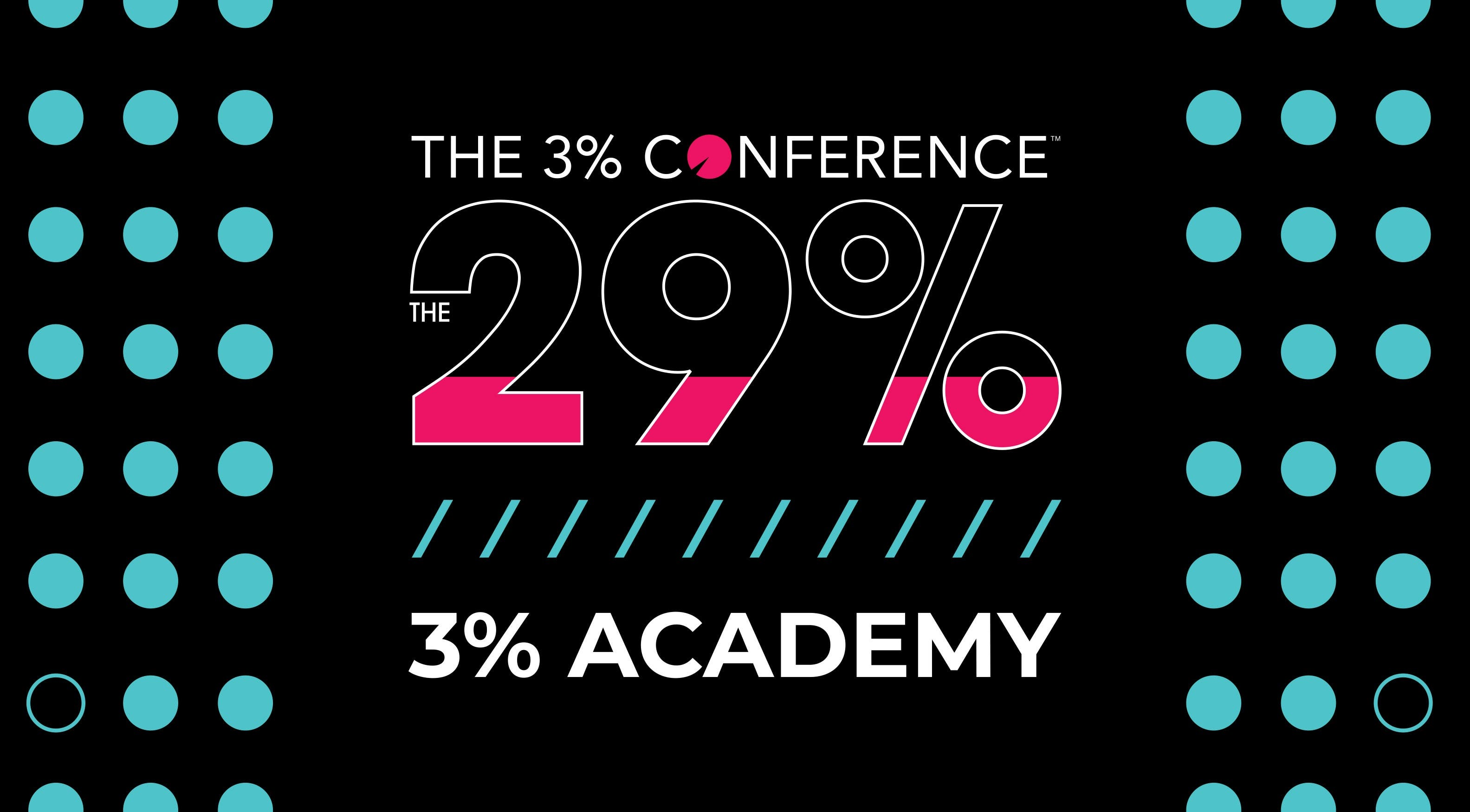 3% Academy - The 29%  Agency Edition