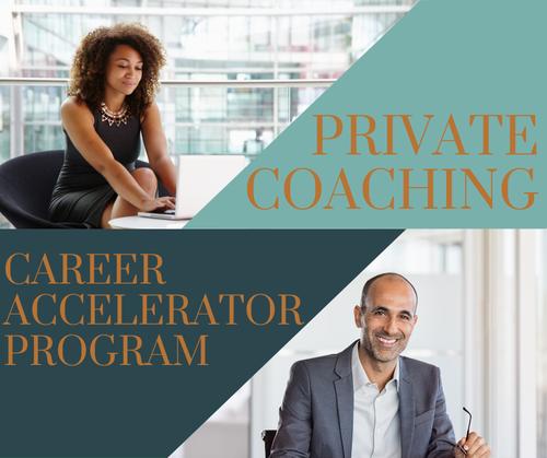 Private Coaching Program - Career Accelerator