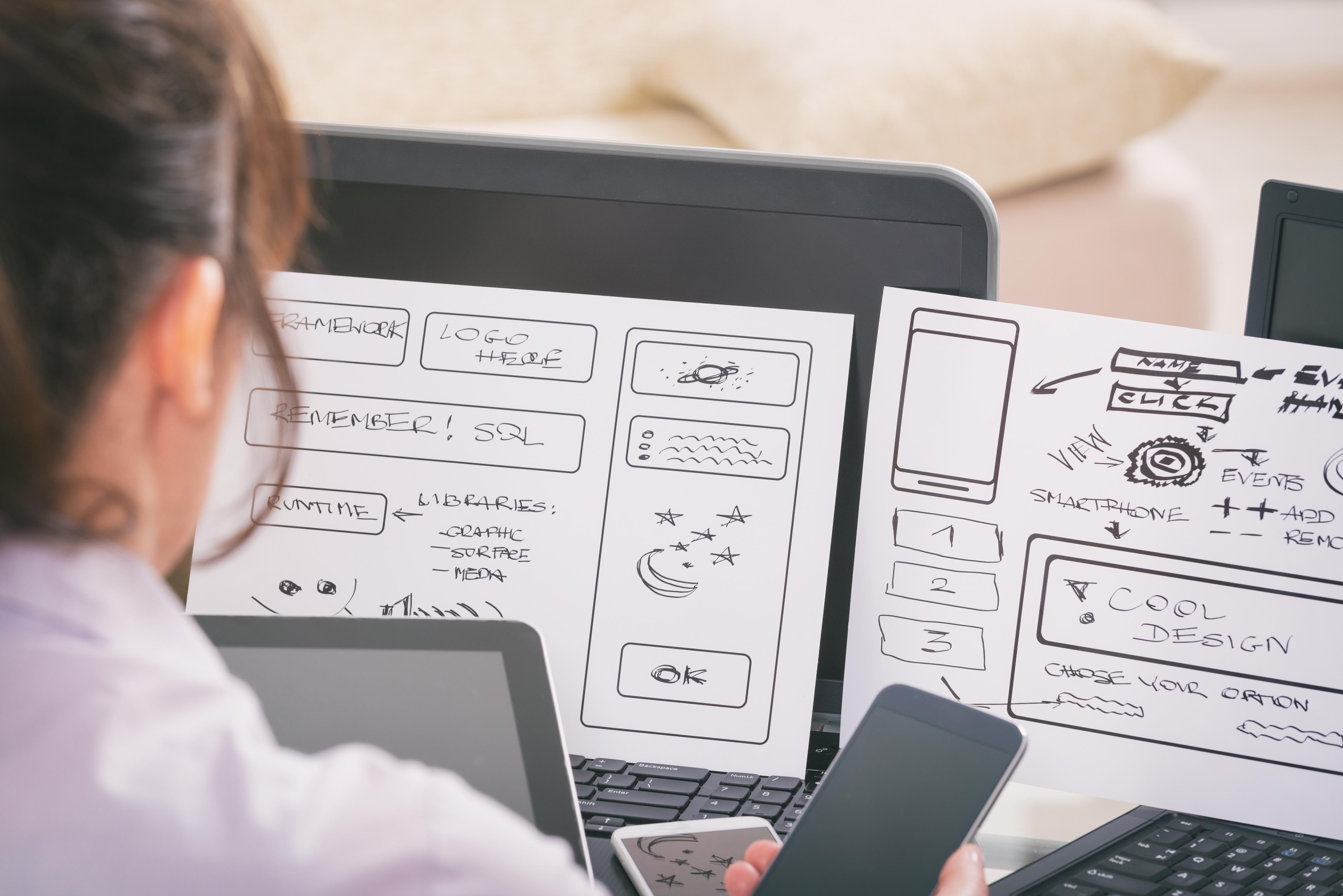 Web e app design