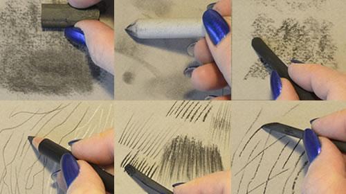 12 Charcoal Techniques