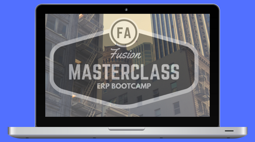 Fusion Fixed Assets Master Class