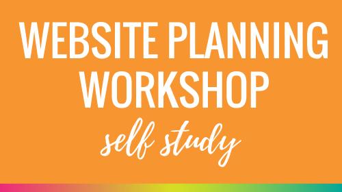 Website Planning Workshop