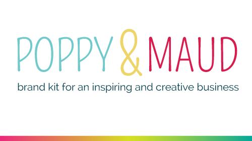Poppy & Maud - Pre-Made Brand Kit