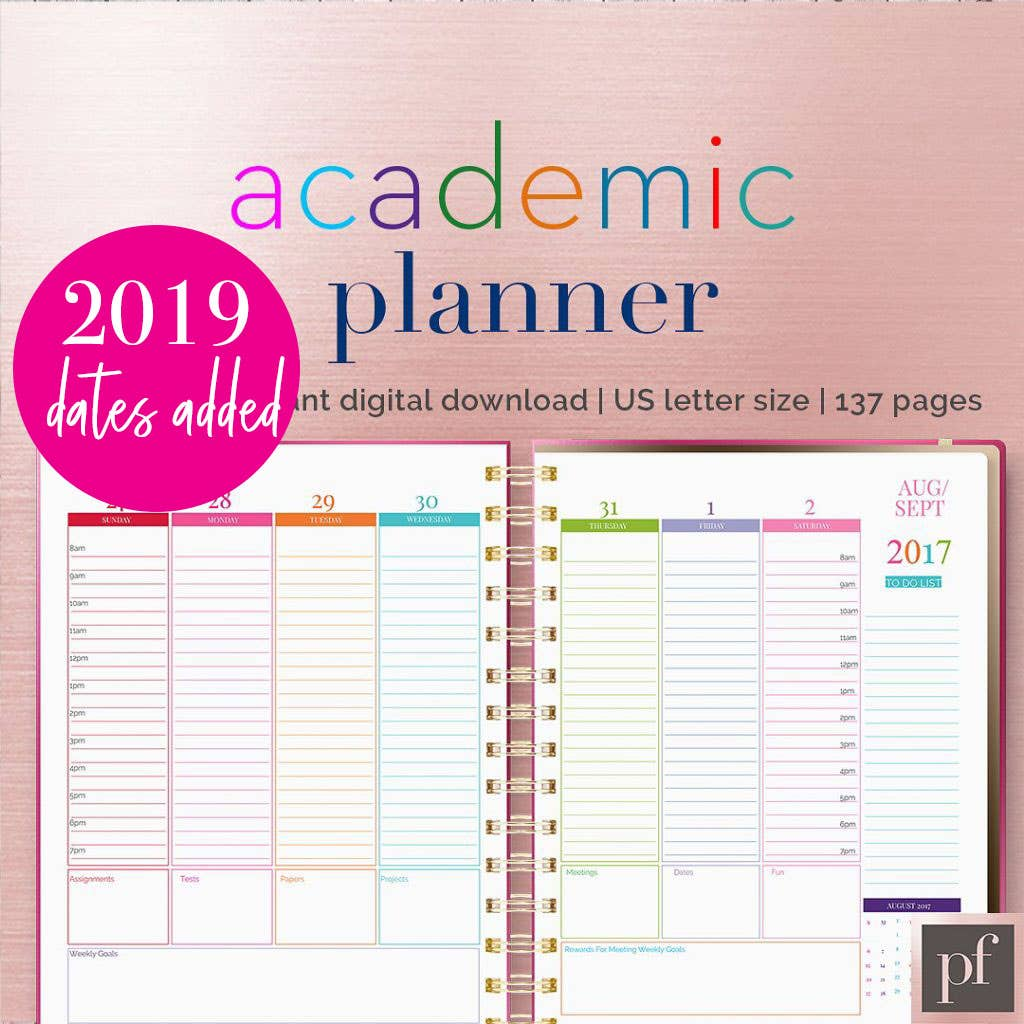 Template | Academic Planner