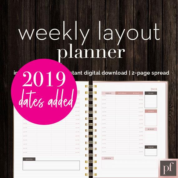 Template | Weekly Planner