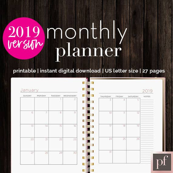 Template | Monthly Planner