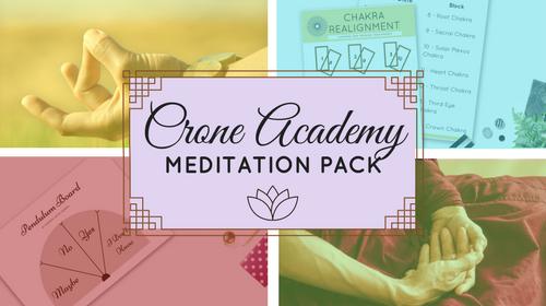 Crone Academy Meditation Pack
