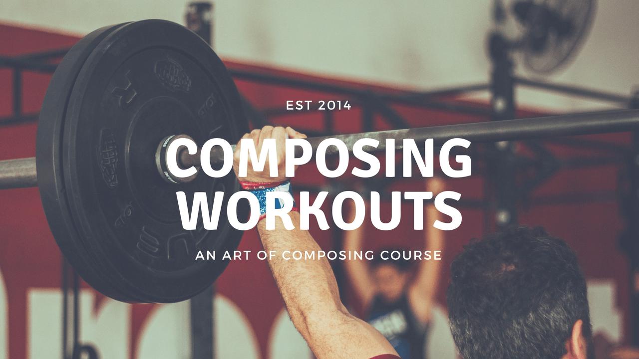 Bonus: Composing Workouts