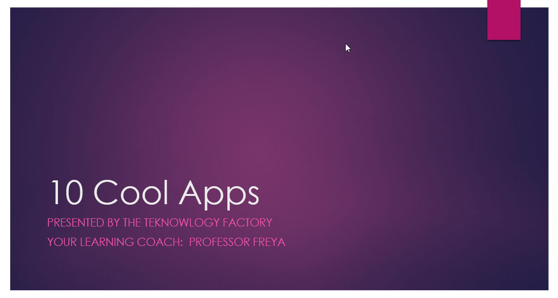 10 Cool Apps!