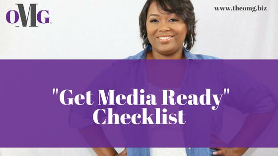 Get Media Ready Checklist