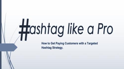 Hashtag Like a Pro