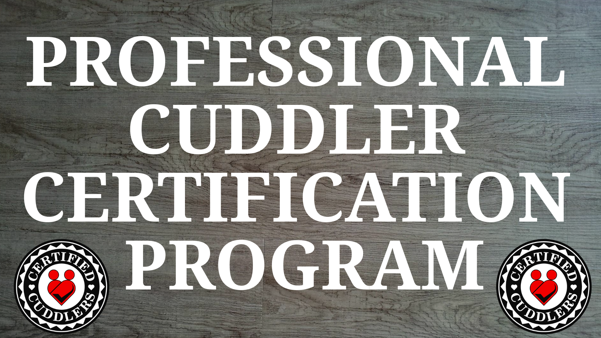 Professional Cuddler Certification Program Beta