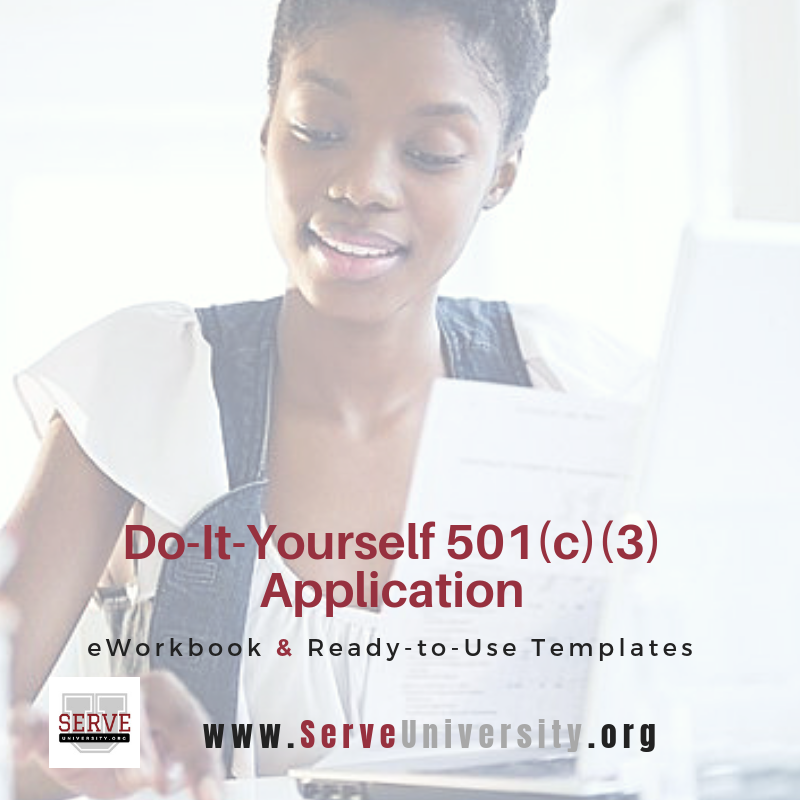 Do-It-Yourself 501c3 Application