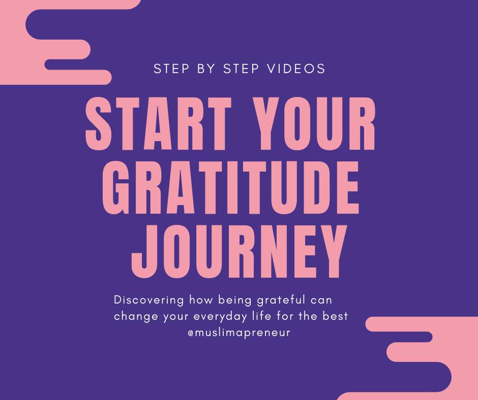 Start Your Gratitude Journey