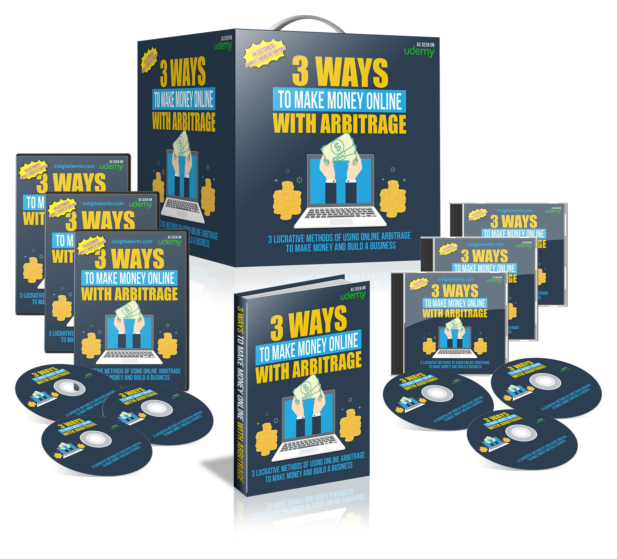 3 Ways To Make Money Online With Arbitrage