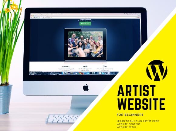 Web Development - Artist Page