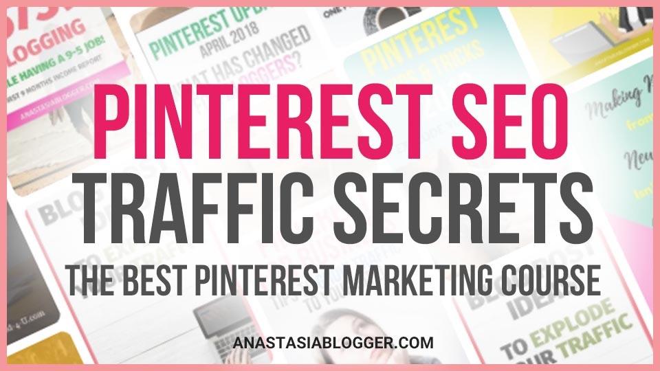 Pinterest SEO Traffic Secrets  + Coaching