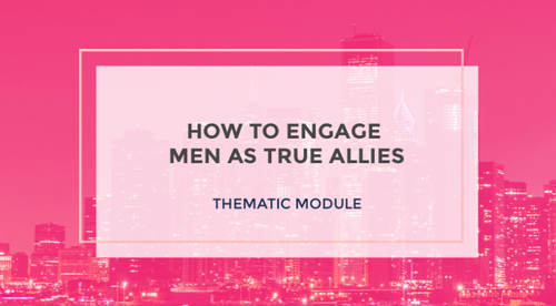 Engaging Men as True Allies
