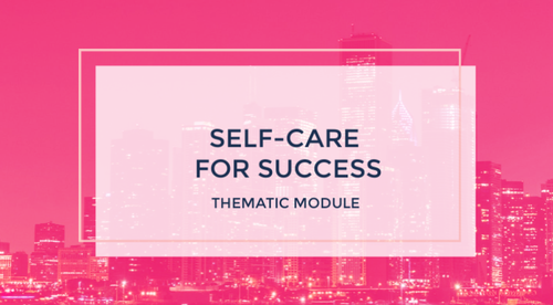 Self Care for Success