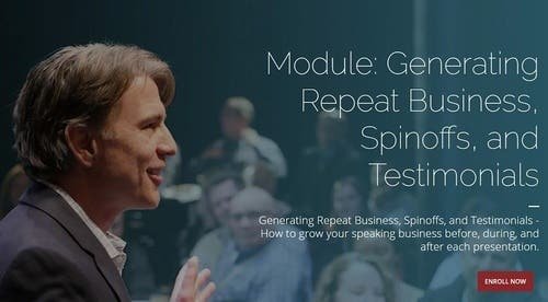 Module 13 - Generating Repeat Business, Spinoffs, and Testimonials