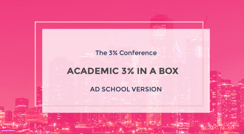 ACADEMIC 3% IN A BOX