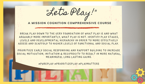 Let's Play! Full Course