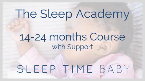 The Sleep Academy - 14-24 months