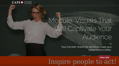 Module 7 - Visuals That Will Captivate Your Audience