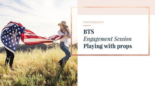 BTS - Playing with Props