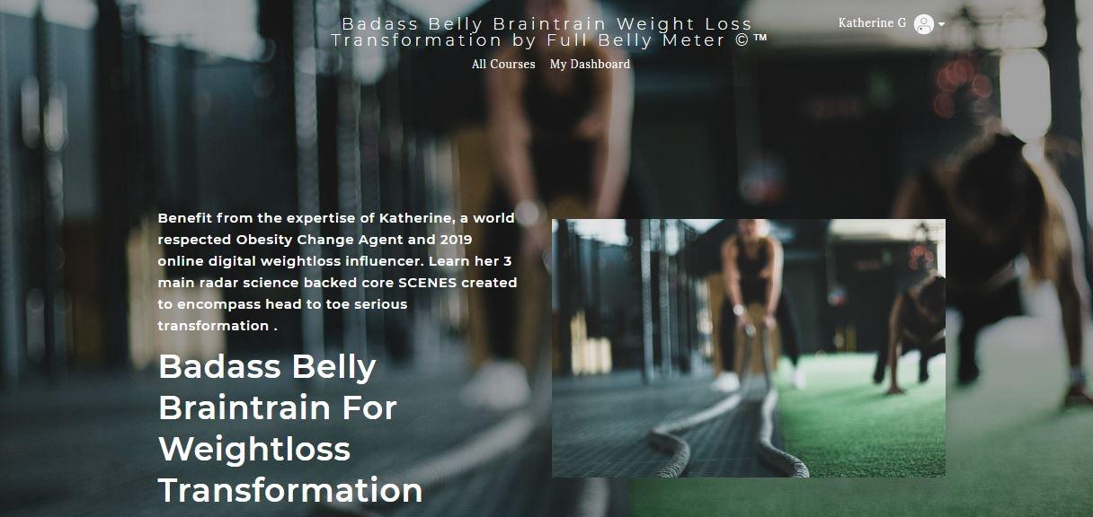 THE KEEN SCENE | Badass Belly Braintrain For Weightloss Transformation