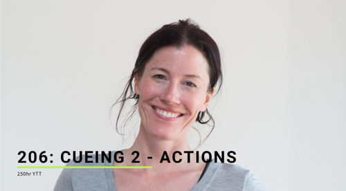 206: Cueing 2 - Actions