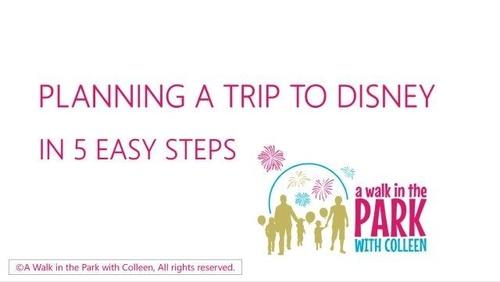 Disney in 5 Easy Steps