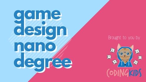 Game Design Micro Degree