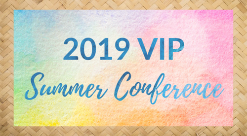 2019 Summer Conference VIP
