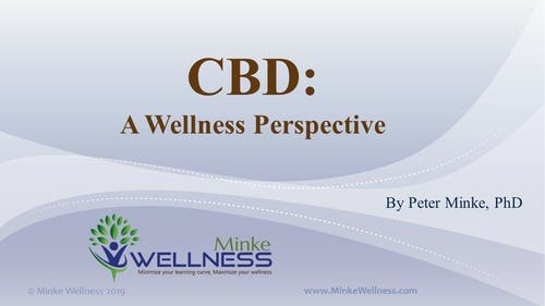 CBD: A Wellness Perspective