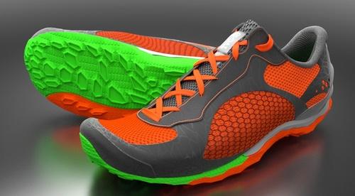Athletic Footwear Modeling in Modo: Topology Method