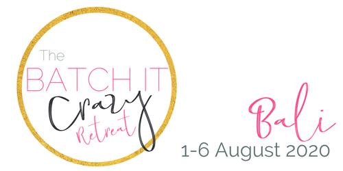 Batch It Bali RETREAT  |  1-6 August 2020