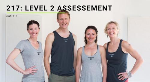 217: Level 2 Assessment