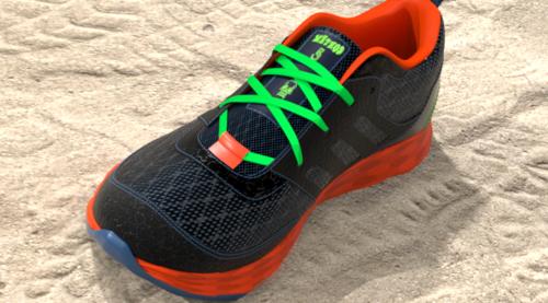 Athletic Footwear Modeling in Modo: Procedural Method