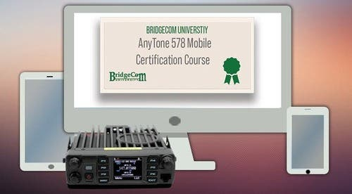 AnyTone Mobile Course