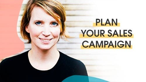 Plan your sales campaign