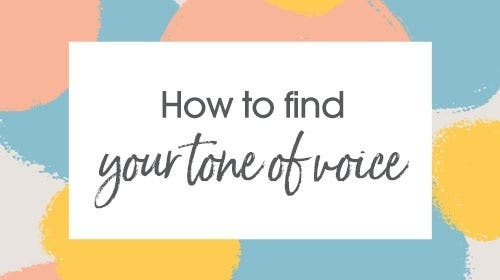 How to find your tone of voice