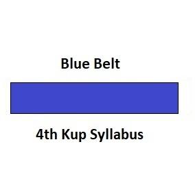 4th Kup Syllabus