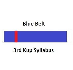 3rd Kup Syllabus