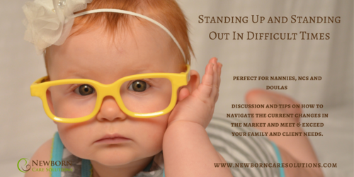 Standing Up & Standing Out in Difficult Times