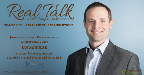Real Talk with Jay Schulze at Homework Solutions