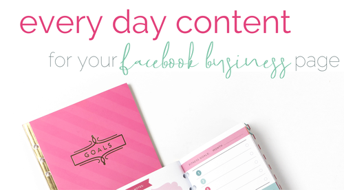 Everyday Content - FB Page